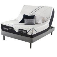 Serta iComfort CF3000 Medium King Mattress and Motion Perfect IV Adjustable Base Set
