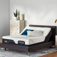 Serta iComfort CF2000 Firm Queen Mattress and Motion Perfect IV Adjustable Base Set