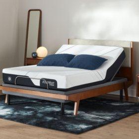 Serta iComfort CF1000 Medium Queen Mattress and Motion Perfect IV Adjustable Base Set
