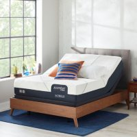 iComfort CF2000 Hybrid Firm Queen Mattress and Motion Perfect IV Adjustable Base Set