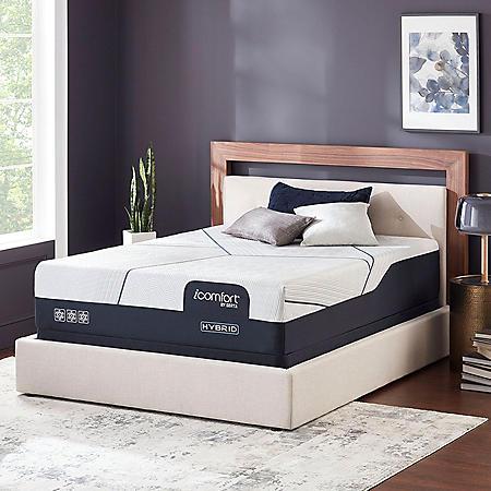 iComfort by Serta CF4000 Hybrid Plush California King Mattress Set