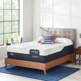 iComfort by Serta CF2000 Hybrid Firm Queen Mattress Set