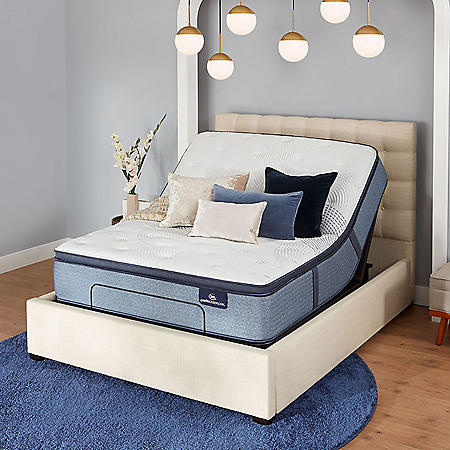 Serta Perfect Sleeper Glenmoor 3.0 Pillowtop Mattress and Motion Essentials IV Adjustable Base Set (Various Sizes)