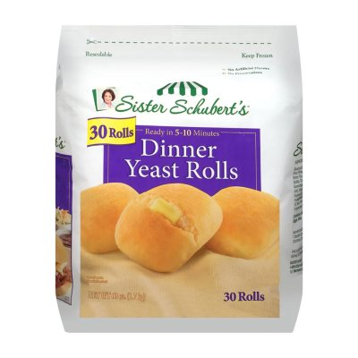Sister Schubert S Dinner Yeast Rolls Frozen 40 Rolls Sam S Club