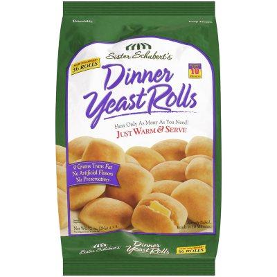 Sister Schubert S Dinner Yeast Rolls 36 Ct Sam S Club