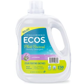 ECOS Plus with Stain-Fighting Enzymes Laundry Detergent - 210 fl. oz.