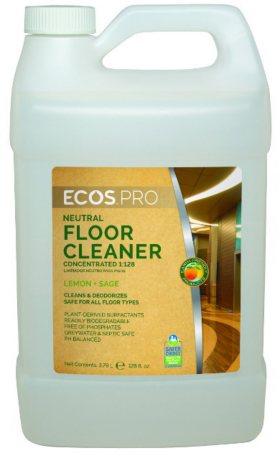 ECOS Proline Floor Cleaner for Hardwood and Laminates, Sage Scent (128 oz.)