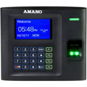 Amano MTX-30 Biometric WiFi Employee Time Clock Tracking System