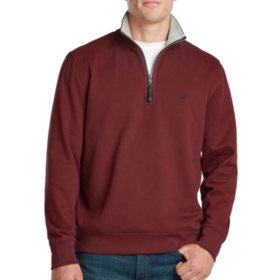 Nautica Men's Quarter Zip Fleece
