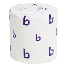 Boardwalk - Bathroom Tissue, 2-Ply, White, 500 Sheets/Roll -  96 Rolls/Carton