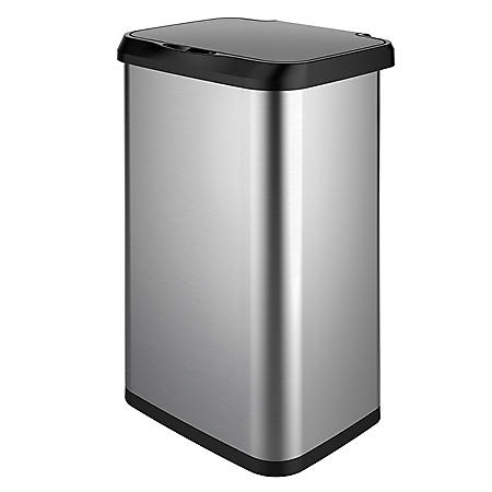 Glad 20-Gallon Stainless Steel Sensor Trash Can
