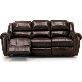 Astounding Lane Sidney Leather Double Reclining Sofa Sams Club Gmtry Best Dining Table And Chair Ideas Images Gmtryco