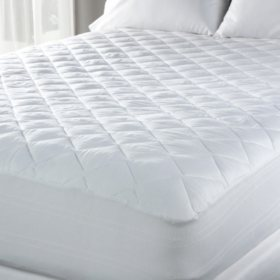 Eddie Bauer 300 Thread Count Premium Cotton Mattress Pad - Queen or King