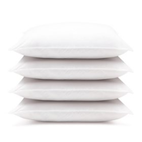 Downlite Hypoallergenic Down Alternative Pillows, Jumbo (4-pack)