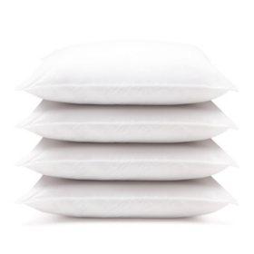 Downlite Hypoallergenic Down Alternative Pillows, Jumbo (4-pack)