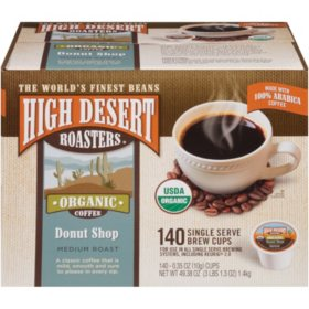 High Desert Roasters Donut Shop Coffee Single Serve Pods (140 ct.)
