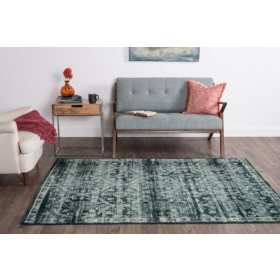 Concept Tile Area Rug, Blue (Assorted Sizes)