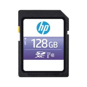 HP sx330 Class 10 U3 SDXC Flash Memory Card (Select Size)