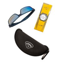 Callaway Polarized Blue Lens, Full Rim Sunglasses with Accessories