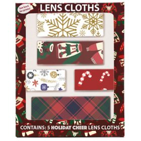 Holiday Cheer Lens Cloths (5 pk.)