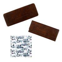 Robert Graham Americana Brown Multi Case + Cloth
