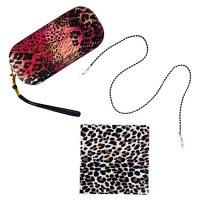 XOX Betsey Johnson Leopard Multi Case + Cloth