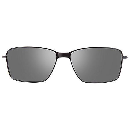 Callaway CA103 Two-Tone Black Clip-On Sunglasses