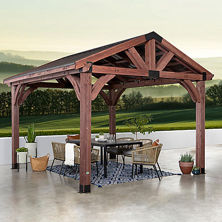 Backyard Discovery Cedar 12' x 12' Gazebo