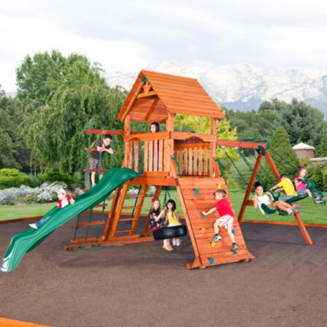 Grand Sequoia Cedar Swing/Play Set
