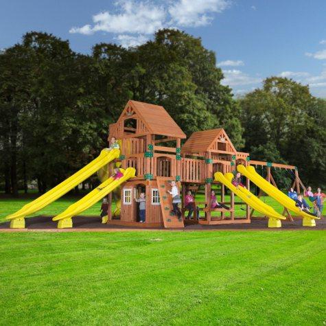 Backyard Odyssey Safari Cedar Playset