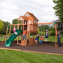 Worthington Cedar Playset with Free Installation