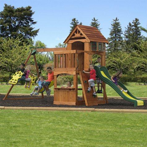Atlantis Cedar Swing/Play Set