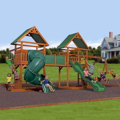 Grand Towers Swing Set