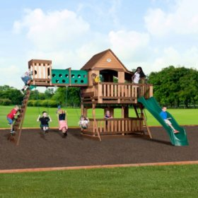 Backyard Discovery Woodridge Elite Cedar Swing Set