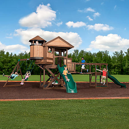 Backyard Discovery Timber Cove Swing Set Sams Club
