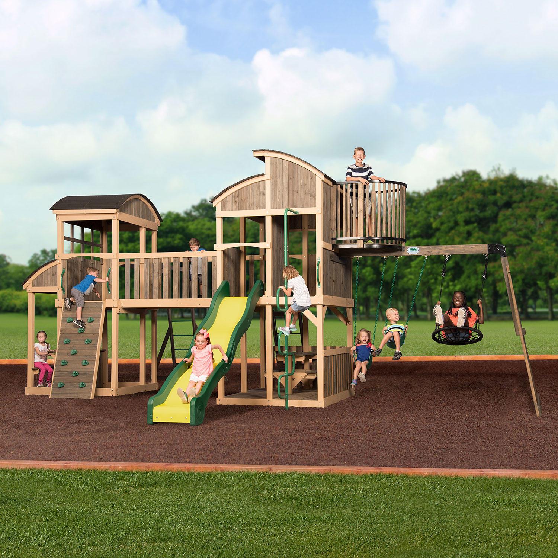 Backyard Discovery Grand Escape Swing Set