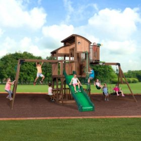Backyard Discovery Skyfort Elite Swing Set