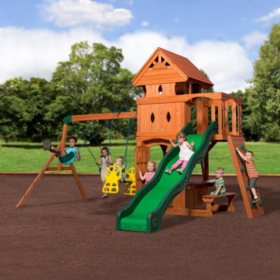 Backyard Discovery Monterey Cedar Swing/Play Set