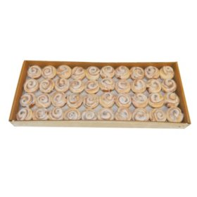 Mini Cinnamon Rolls for Breakfast Tray, Bulk Wholesale Case (240 ct.)