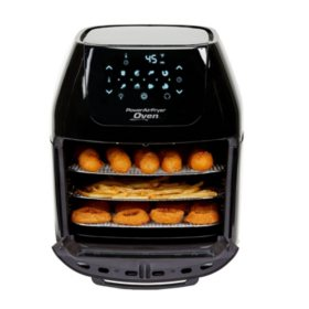 8 QT Family Sized Power Air Fryer Oven Plus 7 in 1 Cooking Features with Professional Dehydrator and Rotisserie