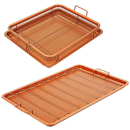 Copper Chef 4-Piece XL Bacon Crisper Set