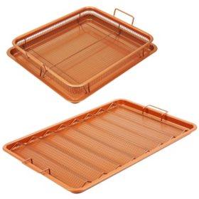 Copper Chef 4-Piece XL Bacon Crisper Set