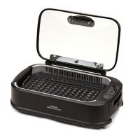 Tristar Smokeless Indoor Electric Grill With Tempered Lid & Interchangeable Griddle Plate