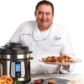 Emeril Lagasse 8-Quart Pressure Air Fryer Duet