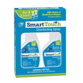 Smart Touch Disinfectant Spray (22 oz., 2 pk.)