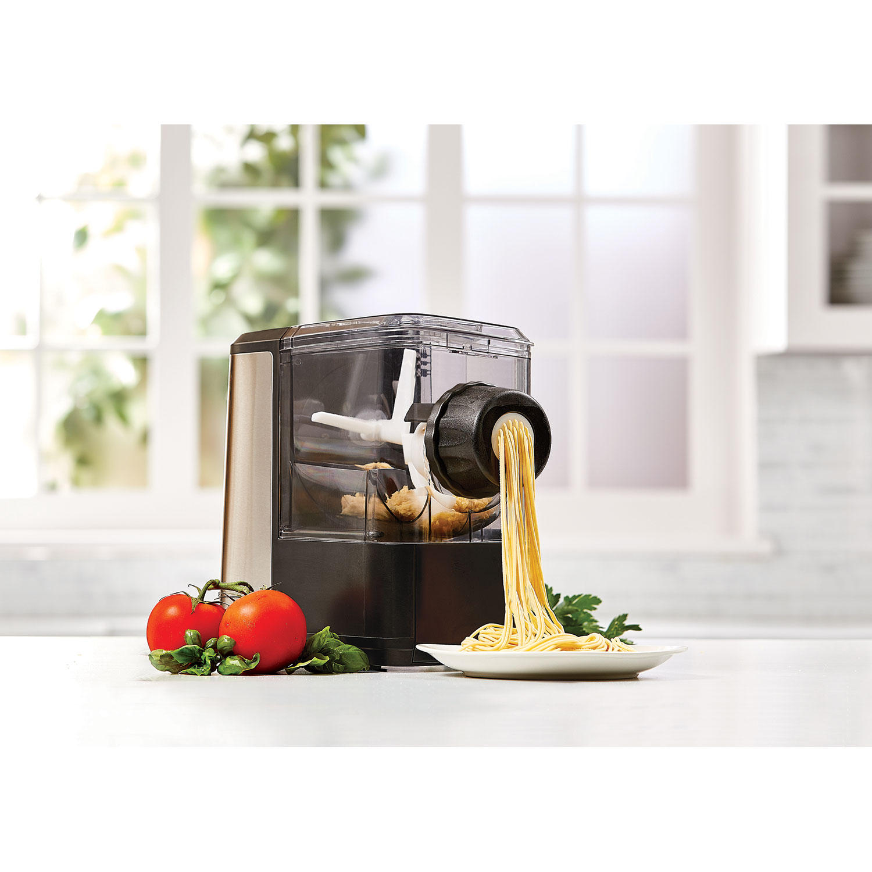 Emeril Lagasse Pasta & Beyond Pasta Machine with Juicer/Frozen Dessert and Meat Grinder Attachments