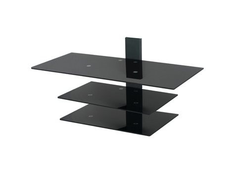 "Orbital 3 Tier Glass Wall Mounting System - Fits up to 50"" TVs"