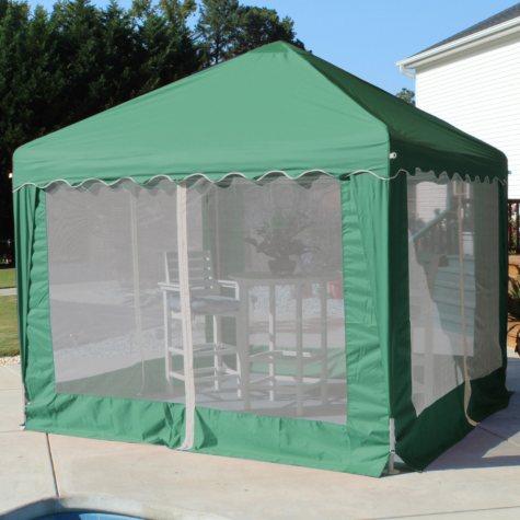 Garden Party Gazebo, Green - 10' x 10'