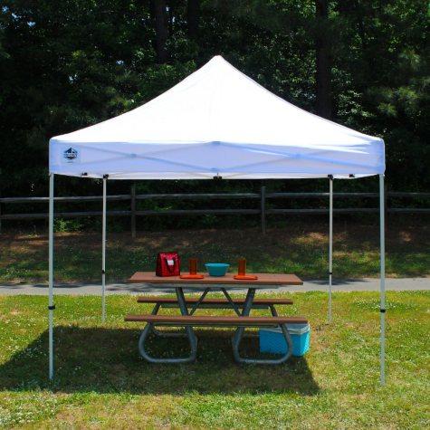 King Canopy™ Festival 10' x 10' White Instant Pop-Up Shelter