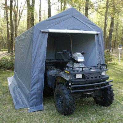 King Canopy Storage Shelter - 7u0027 x 12u0027 & Samu0027s Club - King Canopy Tuff Tent Canopy w/Walls - 10u0027 x 10u0027